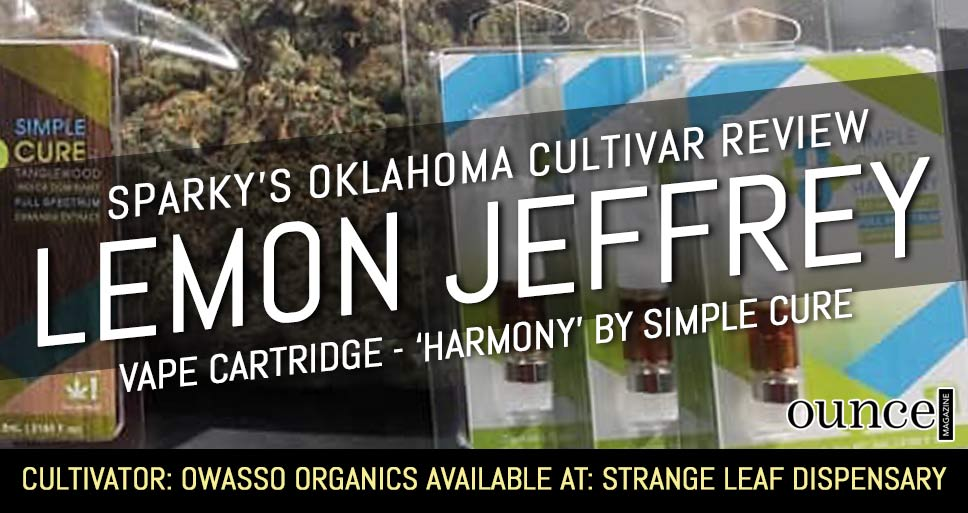 Lemon Jeffrey (VAPE) – Sparky's Oklahoma Cultivar Review